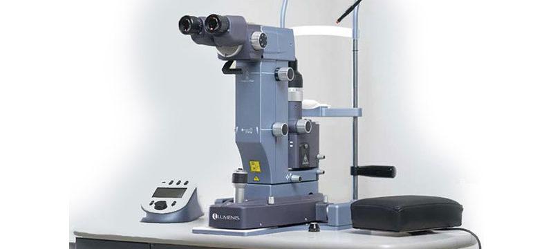 laseroterapia jaskry laser slt